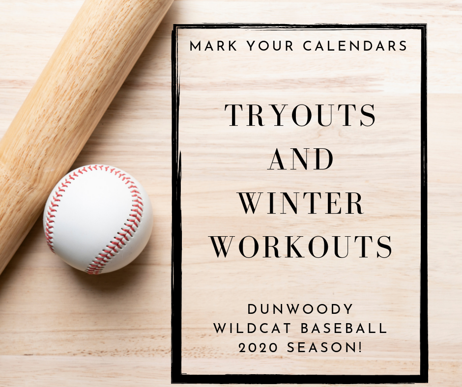 Baseball Tryouts and Winter Workouts